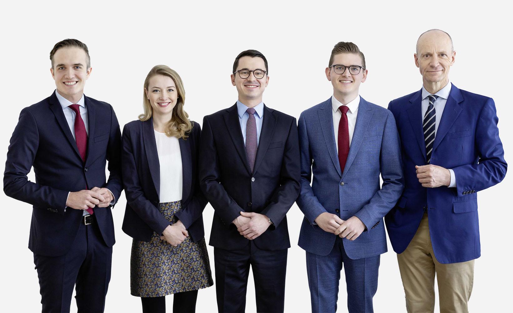 Mitarbeiter der Gerd Kommer Invest GmbH